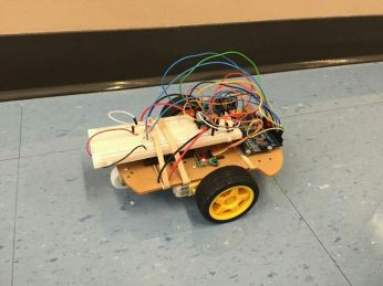 Students will attack this robot with their own