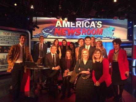 Bill Hemmer now shares America's Newsroom anchoring duties with Sandra Smith.