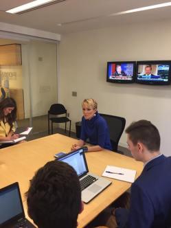 "Fox Business reporter Gerri Willis calls herself a ""utility player."""