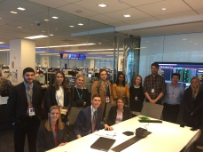 1986 Miami grad Andy Martin, far right, oversees legal coverage for Bloomberg News.