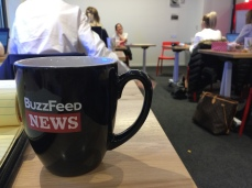 At BuzzFeed fills its site, it also fills its staff with free food and drinks.