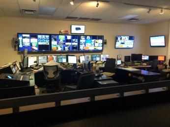 WCPO control room