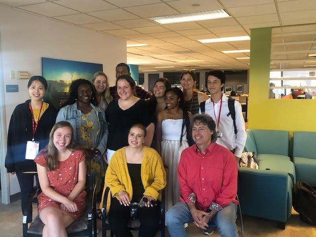 """Media Matters scholars meet in The Cincinnati Enquirer """"living room."""""""